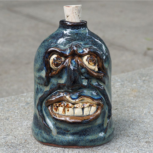 Krause Ugly Face Flask CP513