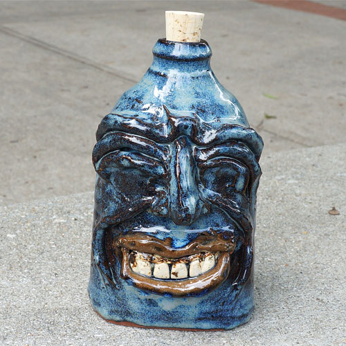 Krause Ugly Face Flask CP520