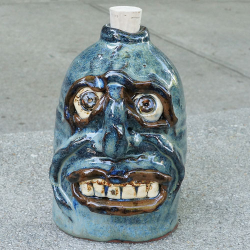 Krause Ugly Face Flask CP525