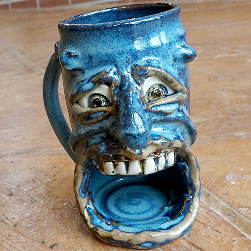 Krause Ugly Face Cookie Mug CP581