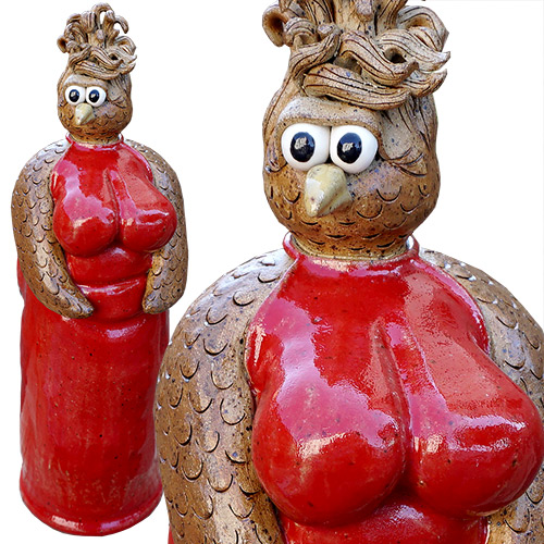 Kris London Chicken Breast Sculpture Red DP1359 SOLD