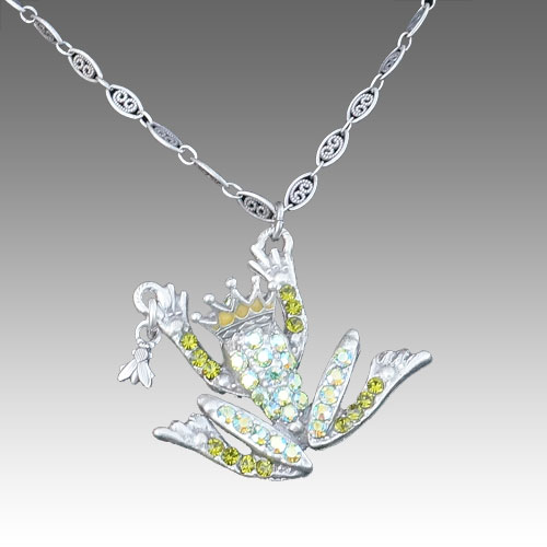 La Contessa Frog Prince Necklace JN1576