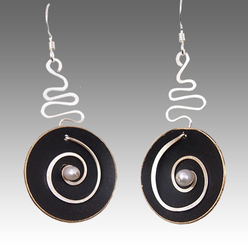 LeDanse Hypnotic Earrings Black JE1529