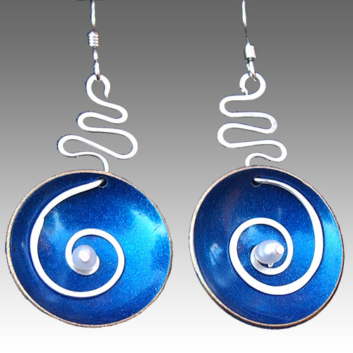 LeDanse Hypnotic Earrings Cobalt JE1535
