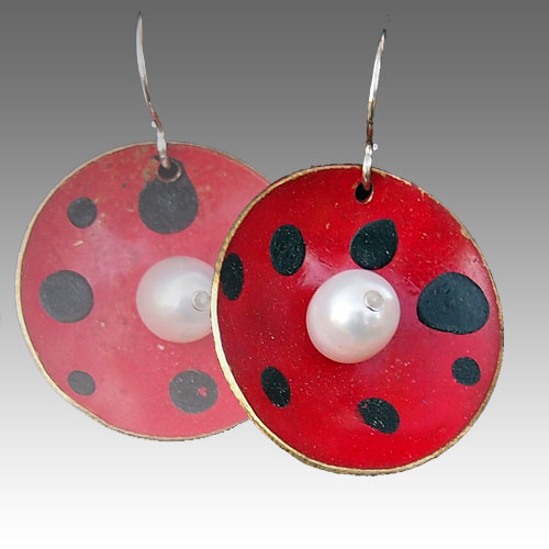 LeDanse Lady Bug Earrings JE2211