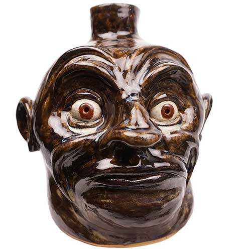 "Lolly Lynn Walton 9"" Face Jug DP1888"