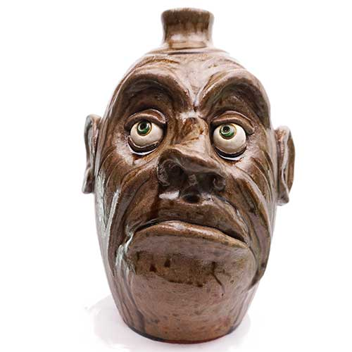 "Lolly Lynn Walton 11"" Face Jug DP1898"