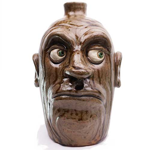 "Lolly Lynn Walton 11"" Face Jug DP1899"