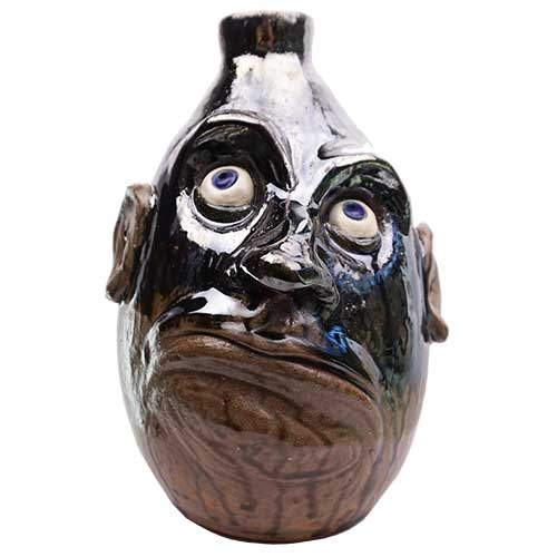 "Lolly Lynn Walton 10"" Face Jug DP1901"