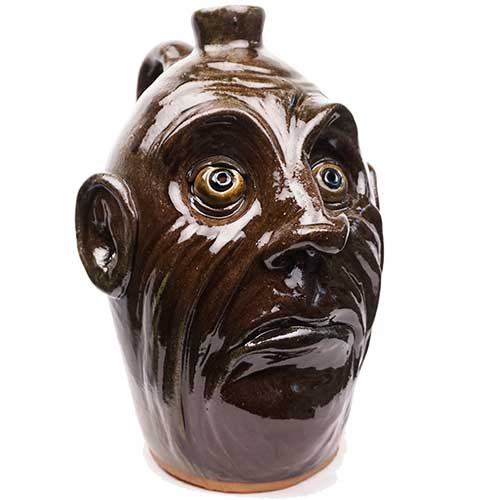 "Lolly Lynn Walton 11"" Face Jug DP1926"