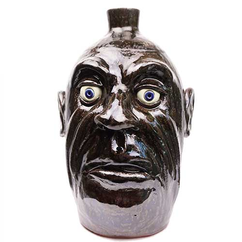 "Lolly Lynn Walton 11"" Face Jug DP1928"