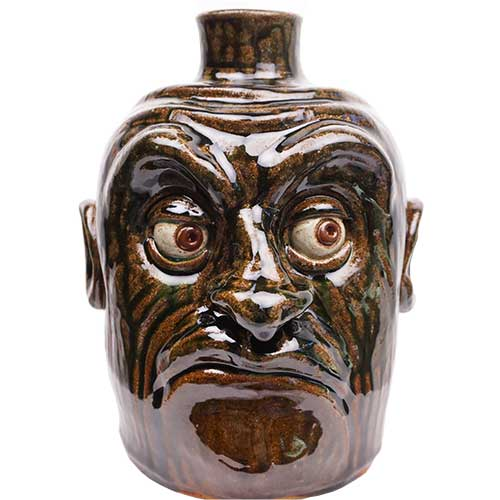 "Lolly Lynn Walton 9"" Face Jug DP1887"