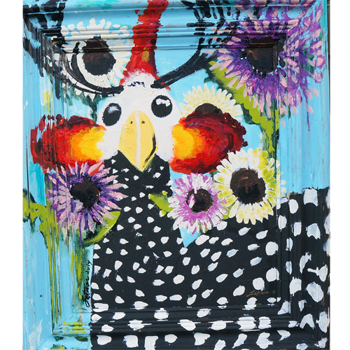 Latimer 24x28 Daisy Chicken WP725