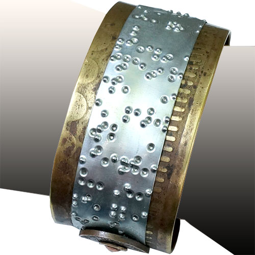 Makeshift Braille Bible Cuff - M RJB266