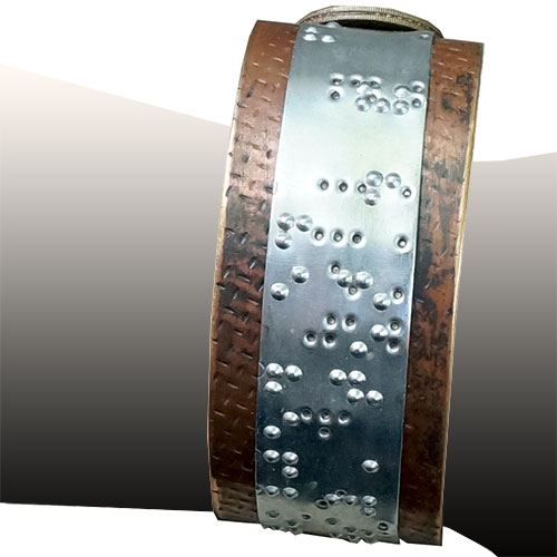 Makeshift Braille Bible Cuff - M RJB291
