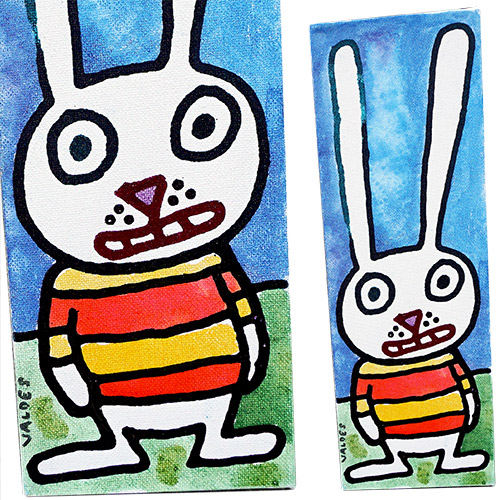 Valdes 12x4 Smiley - Oopsie Rabbit CWP1528