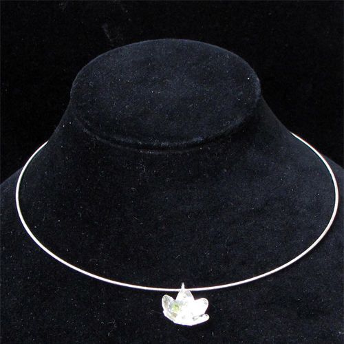 Martha Pearl Flower Necklace JN545