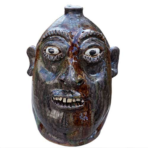 Marvin Bailey Face Jug DP1394