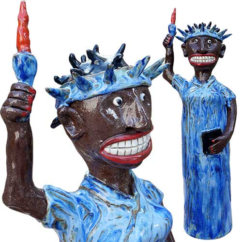 Marvin Bailey Statue of Liberty DP1396