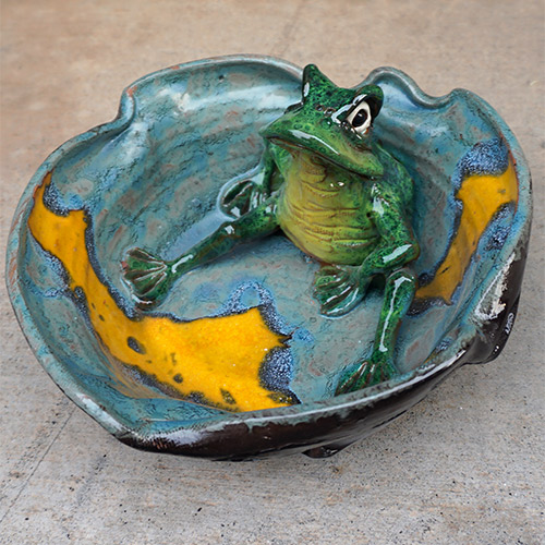 Mazi Frog Bowl CP624 SOLD