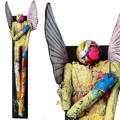 Michael Banks 6x25 Mixed Media Angel WP1671