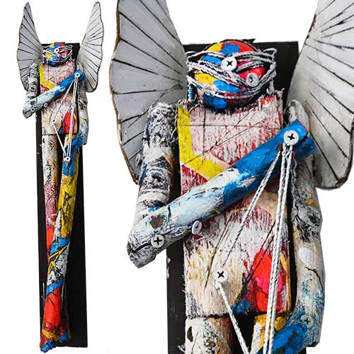 Michael Banks 6x25 Mixed Media Angel WP1672