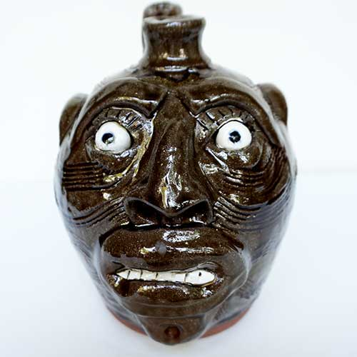 Mike Hanning Face Jug DP1503