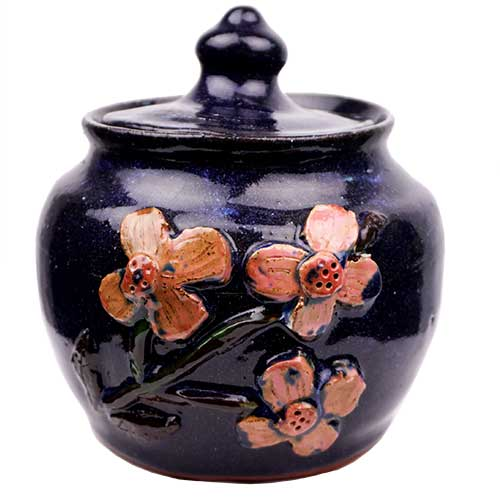 "Mildred Meaders 5.75"" Lidded Container DP1749"