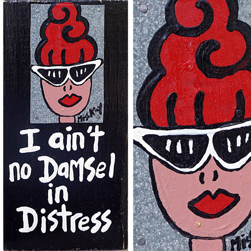 Miss Kay Ain't No Damsel WP1072 SOLD