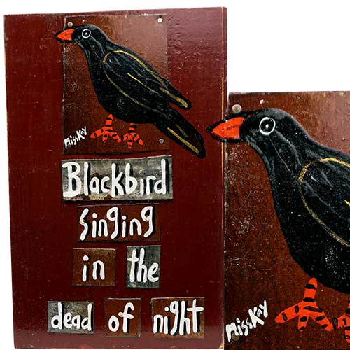 Miss Kay 7x11 Blackbird WP1274