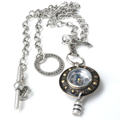 Mullanium Necklace Never Lost Compass JN1168 SOLD