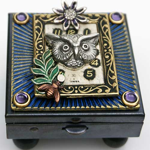 Mullanium Owl in Frame MBox650 SOLD