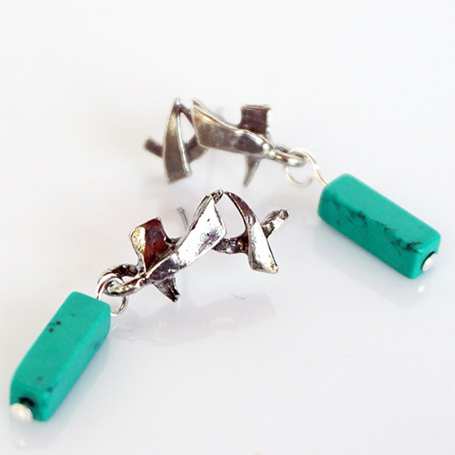 Osmose Sticks n Stones Post Earrings JE3697