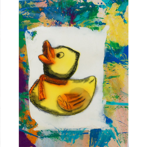 Flack 17x23 Yellow Ducky I WP953