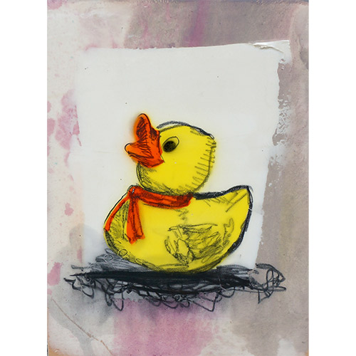 Flack 17x23 Yellow Ducky II WP954