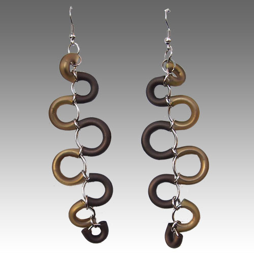 Perfectos Dragones Snake Earrings JE2188