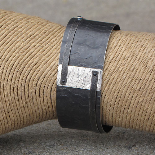 Peterman Mixed Media Cuff Wide JB371