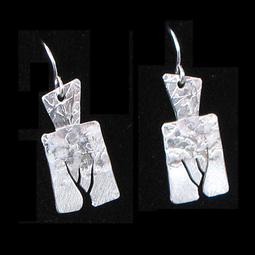 Peterman Tree Silver Earring JE1735