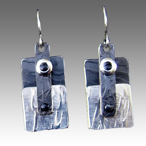 Peterman Mixed Media Earrings JE2154