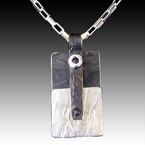 Peterman Mixed Media Necklace JN1342