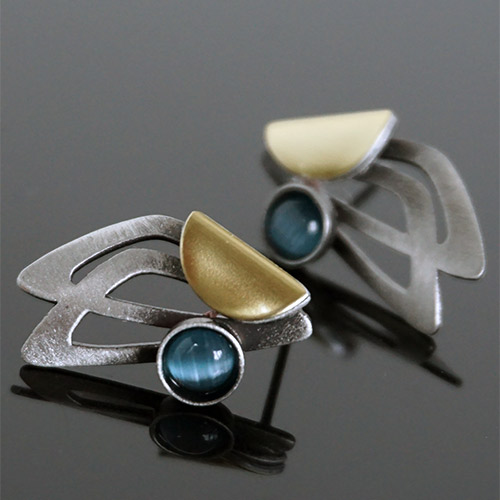 Christophe Poly Earrings Posts Kaylee JE3676