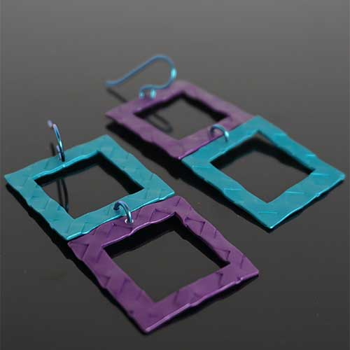 Q3 Art Squared Earrings JE3853