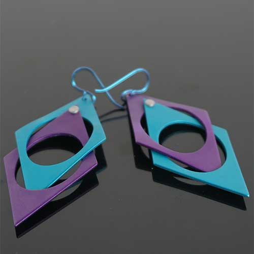 Q3 Art Escher Earrings JE3840