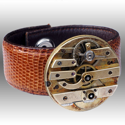 Rewind Vintage Watch Movement Cuff RJB221