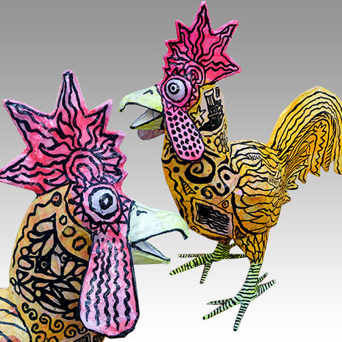Yummy Rooster Lamp FL266