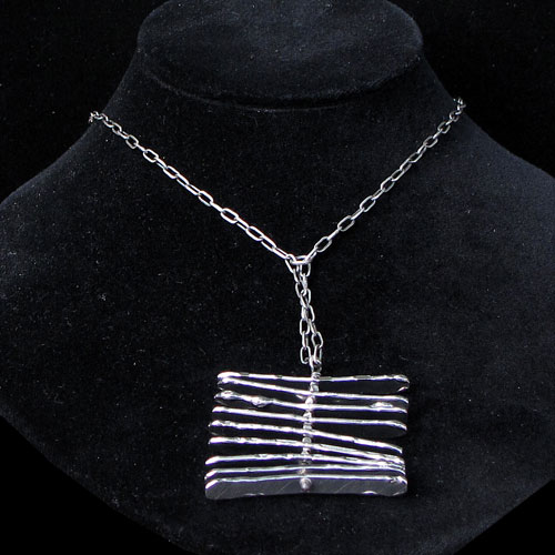 Sasha Zebra Necklace JN919