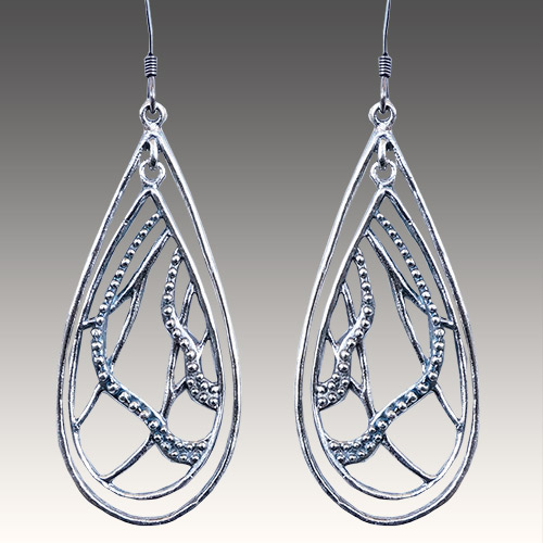 Mercedes Shaffer Earring Vine Branch JE3072 SOLD