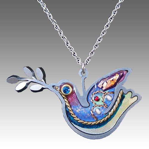 Seeka Peace Dove Necklace JN1381