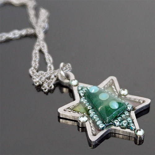 Seeka Star of David Necklace JN2267