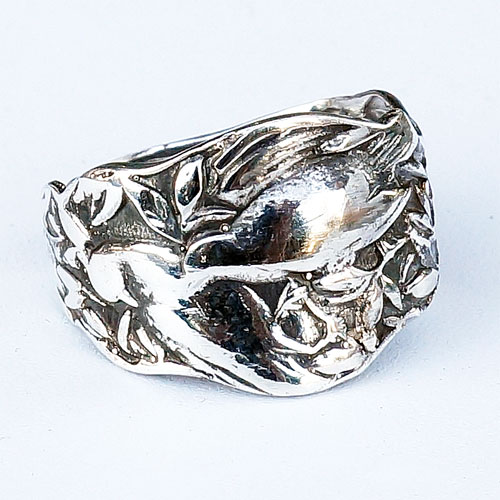 Silver Spoon Ring Patricia RJR84